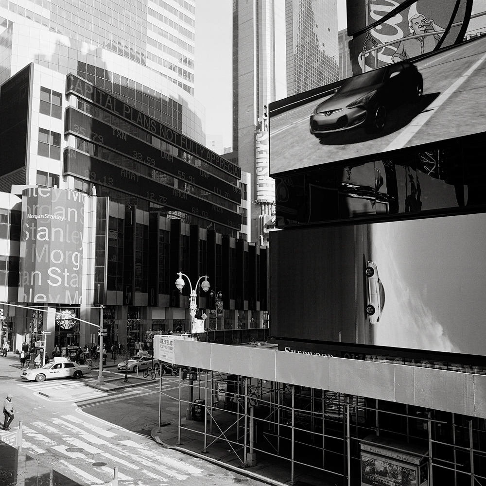 A view of 1585 Broadway, near Times Square, in 2012.
