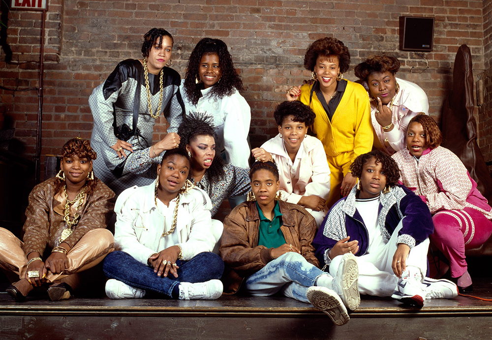 18. Ladies of Hip-Hop shoot for Paper Magazine (1988). Photo by Janette Beckman.