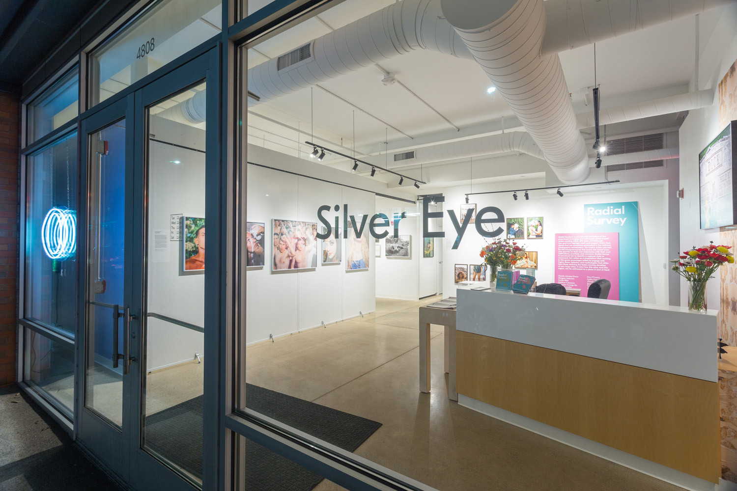 Silver Eye Center for Photography, Radial Survey 2019, Installation