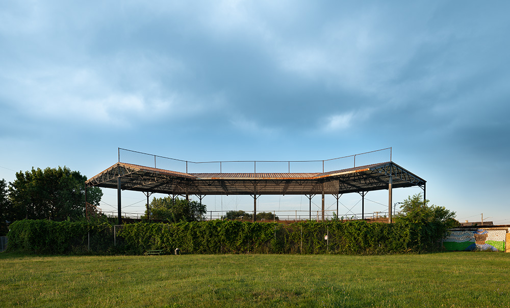 Remains of Negro League Stadium; Hamtramck, Michigan