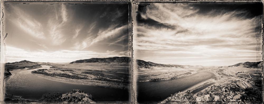 SelengaRiverDiptych