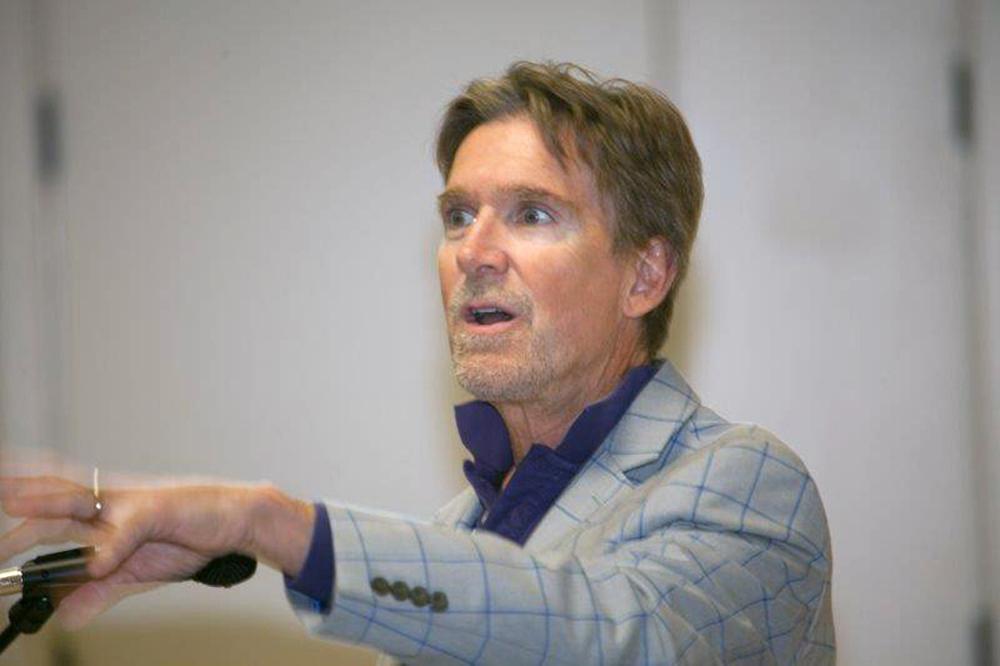 Brian lecturing at SJSU
