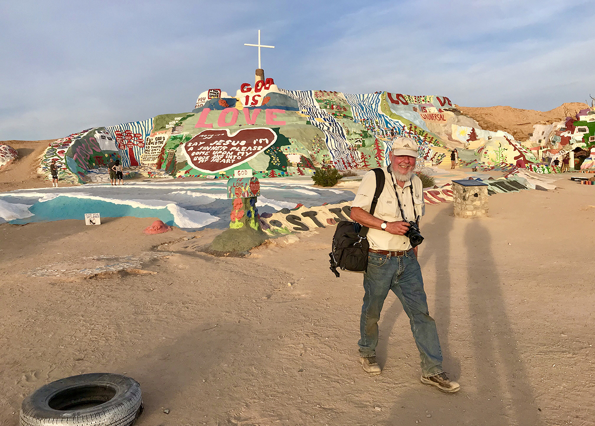 Ted Orland at Salvation Mountain