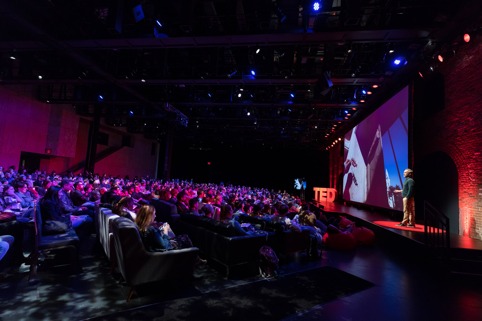TEDFest is a simulcast experience around the livestream of TED2018 - The Age of Amazement, in the vibrant Brooklyn neighborhood of DUMBO, April 10-14, 2018. New York, NY. Photo: Dian Lofton / TED