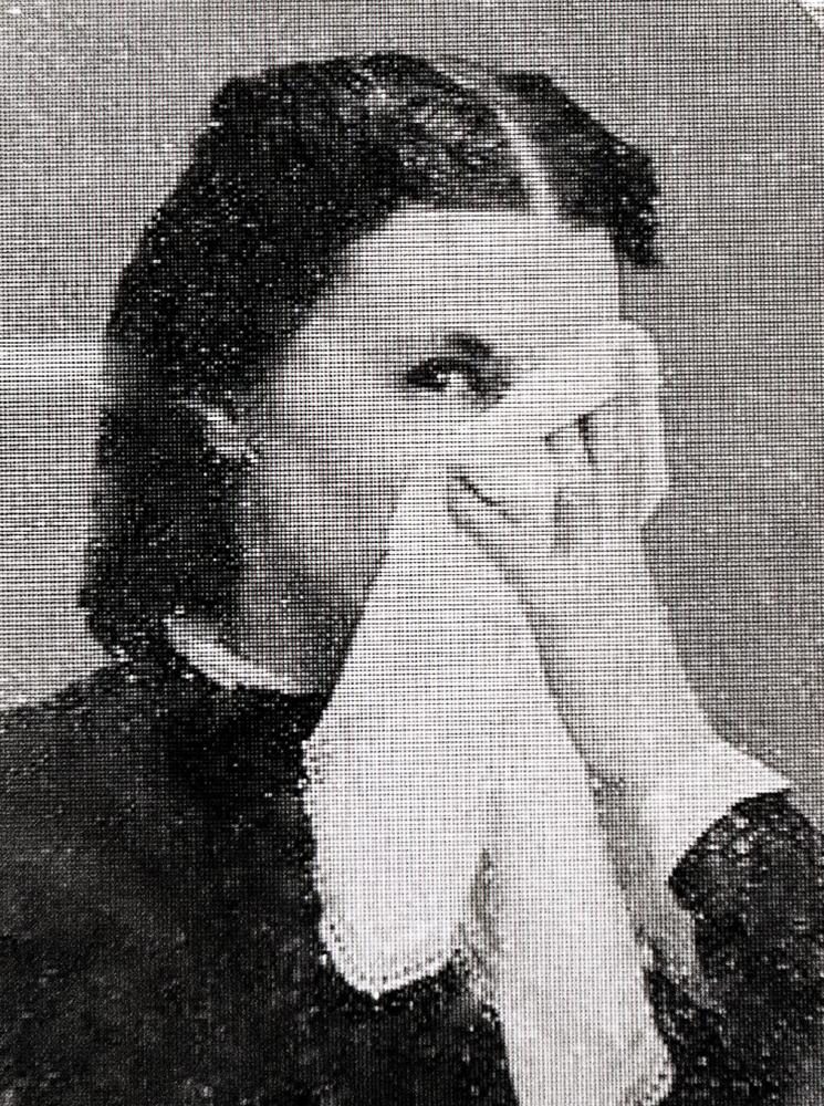 no. 133 (lady with handkerchief) TEMPTATION