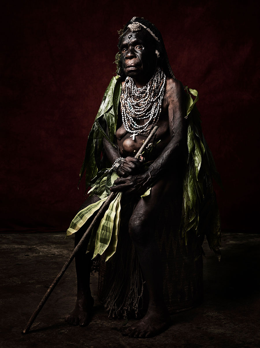 Agnes-Nung-of-the-Warawau-Tribe,-2017