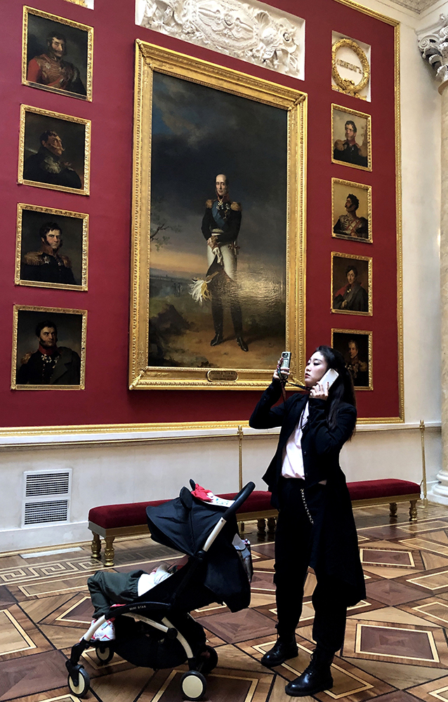 In the Hermitage - Copyright Cindy Bendat 2019 IMG_4310