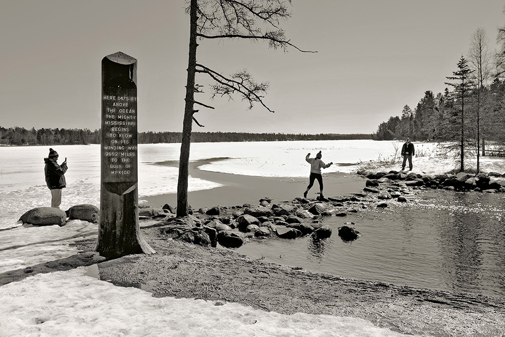 Page 35, Lake Itasca, MN, Source of Mississippi River