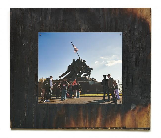 photographed political pieces