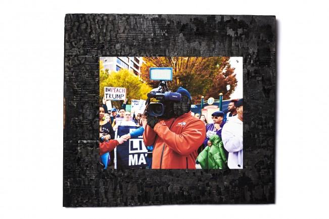 political photographed pieces