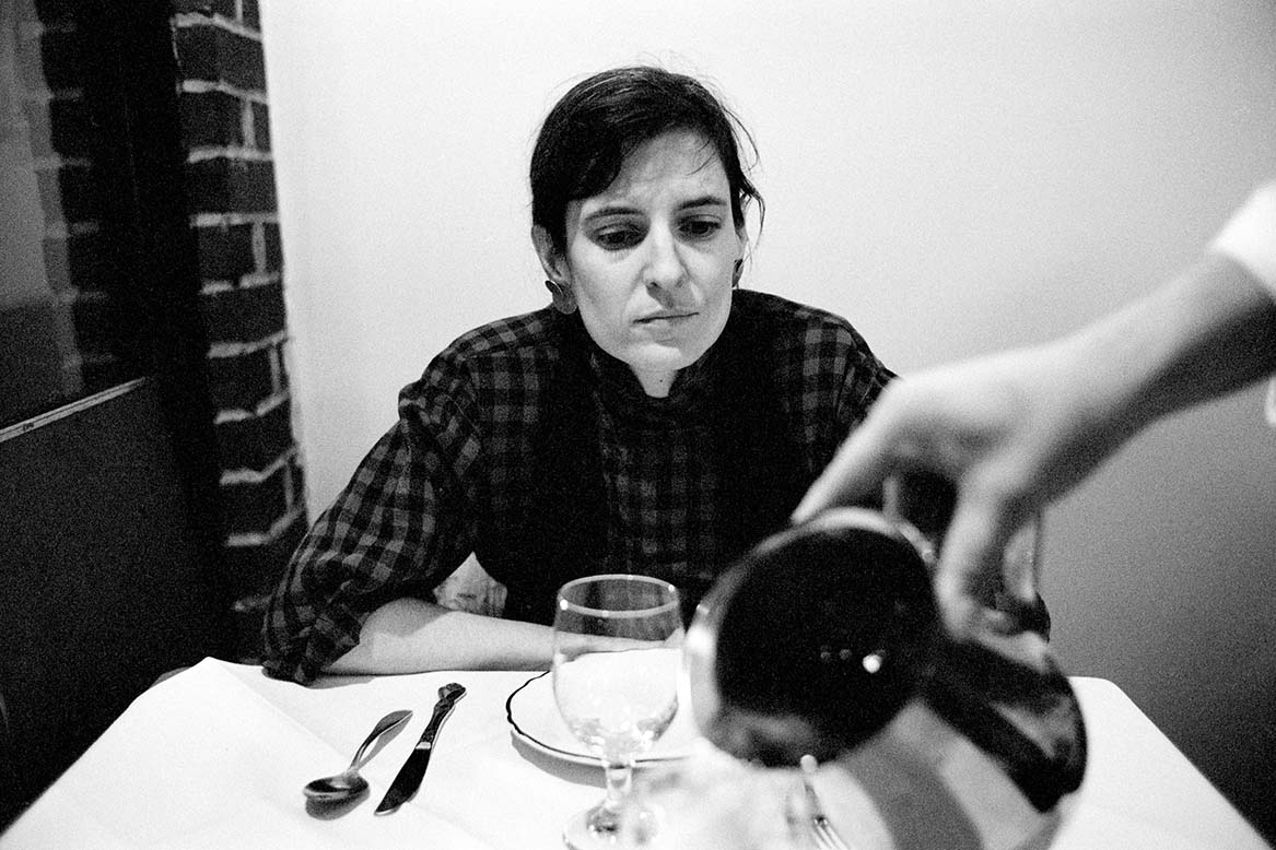 Caption: Helena, waiter, New York, 1989