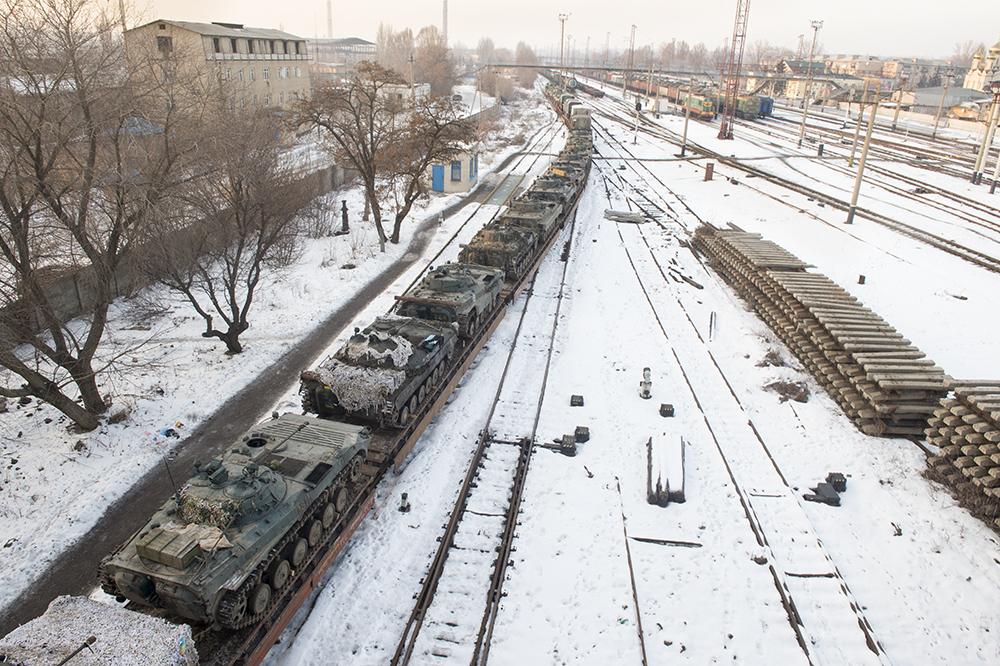 January 20, 2019 - Avdiivka, UKR, Ukraine: CAPTION TEXT. (J.T. Blatty / Polaris)