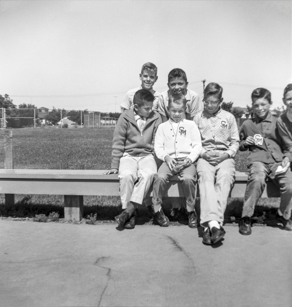 13. Kids on Bench