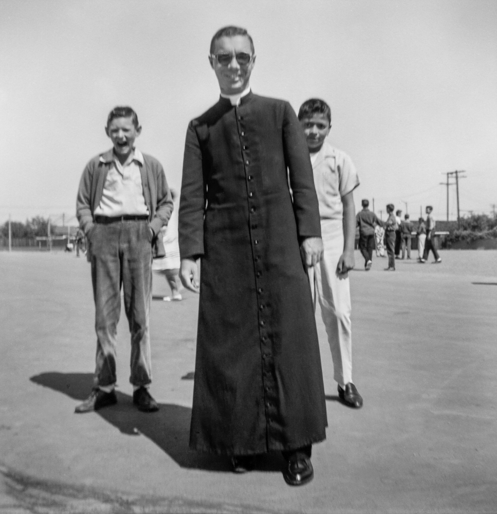 14. Priest on Playground