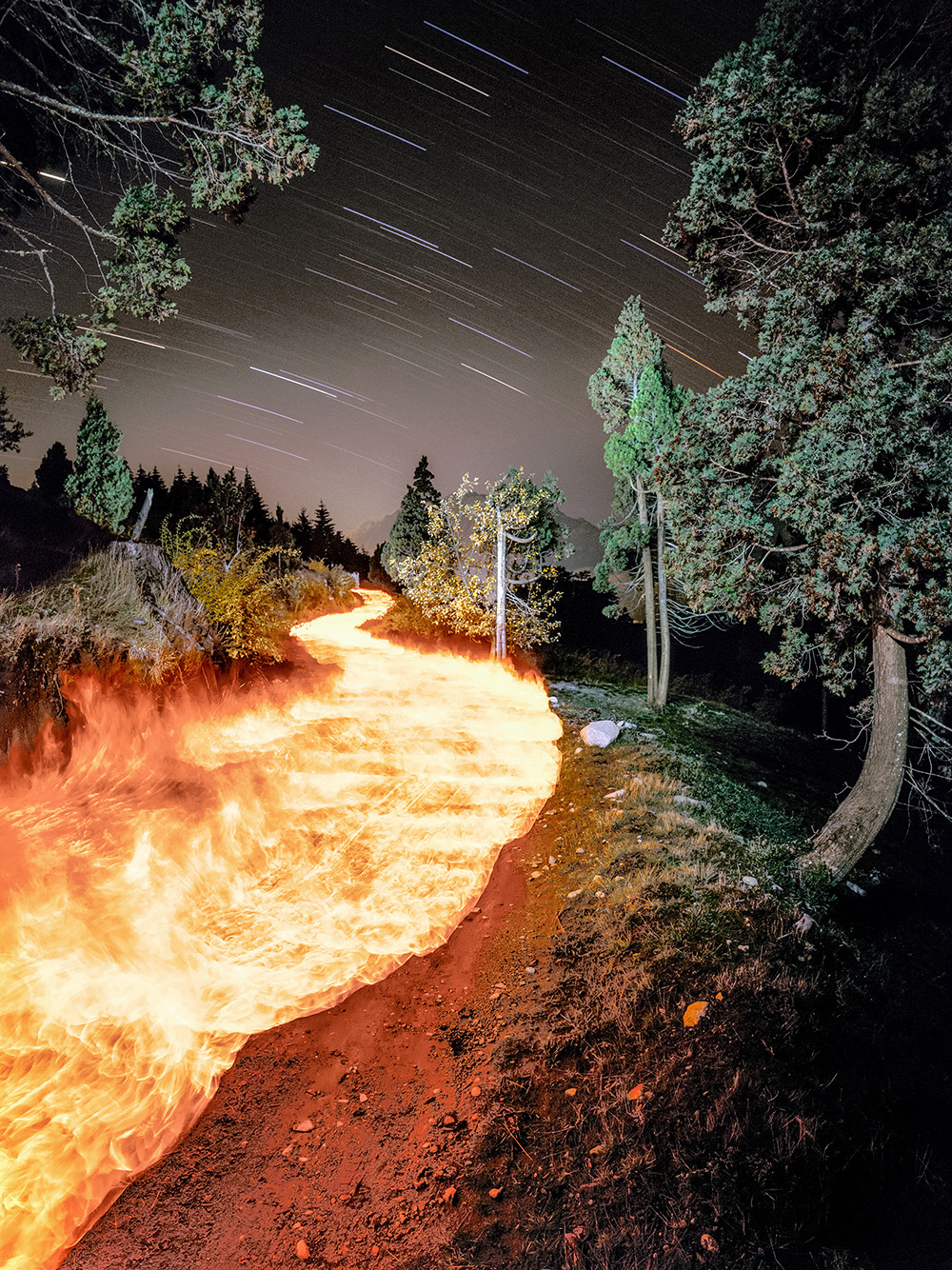26_FLAMING PATH