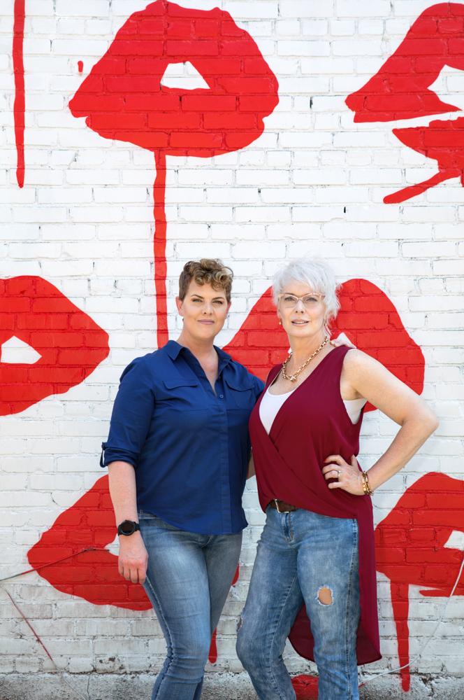 Carla Lewis, Jaime Combs, Nashville, TN Transgender women