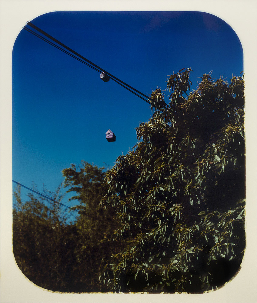 David Wolf_Untitled (House on a Wire)