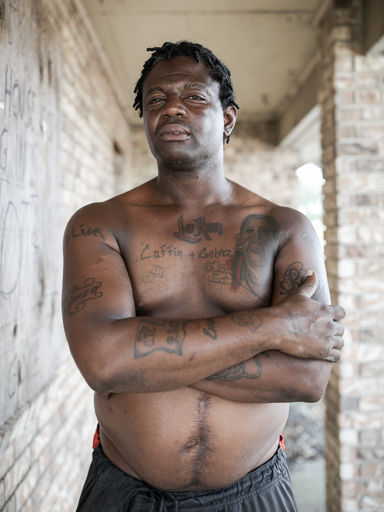 Slim was shot multiple times and left for dead.