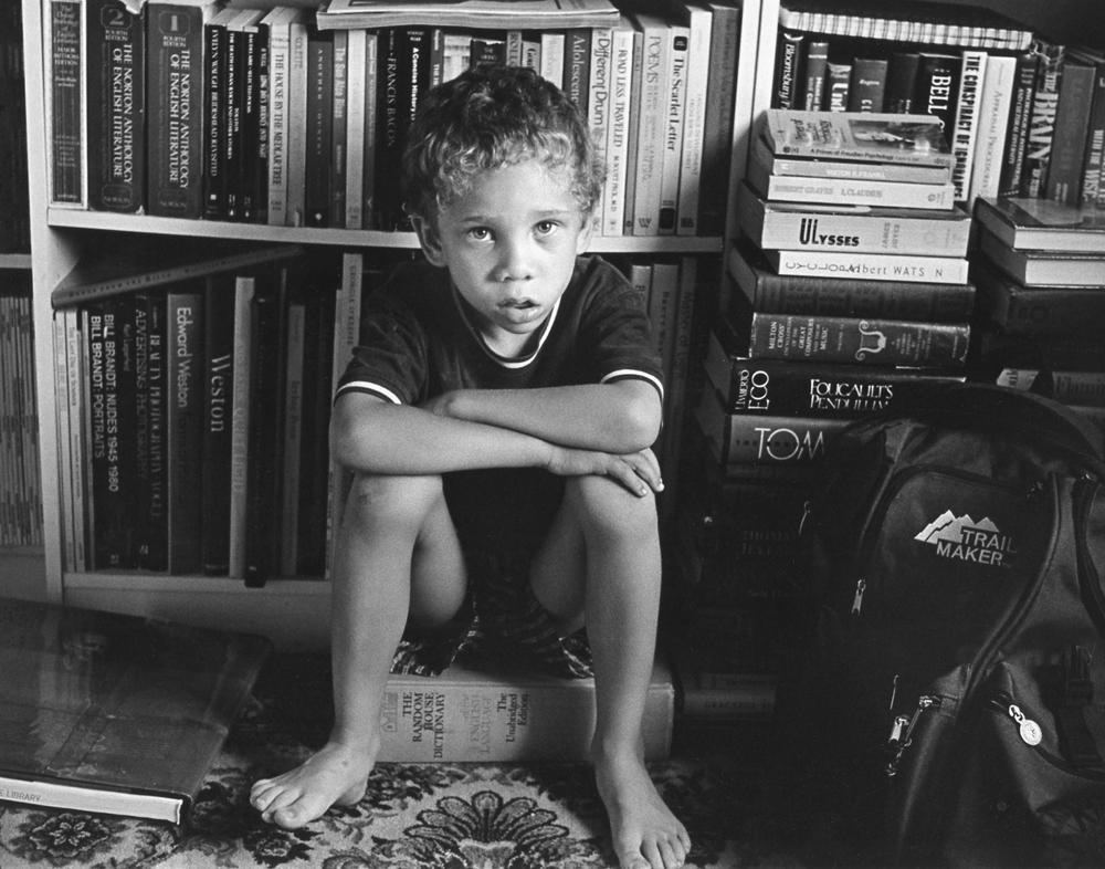 Paul Melhado_Home schooling Jasper