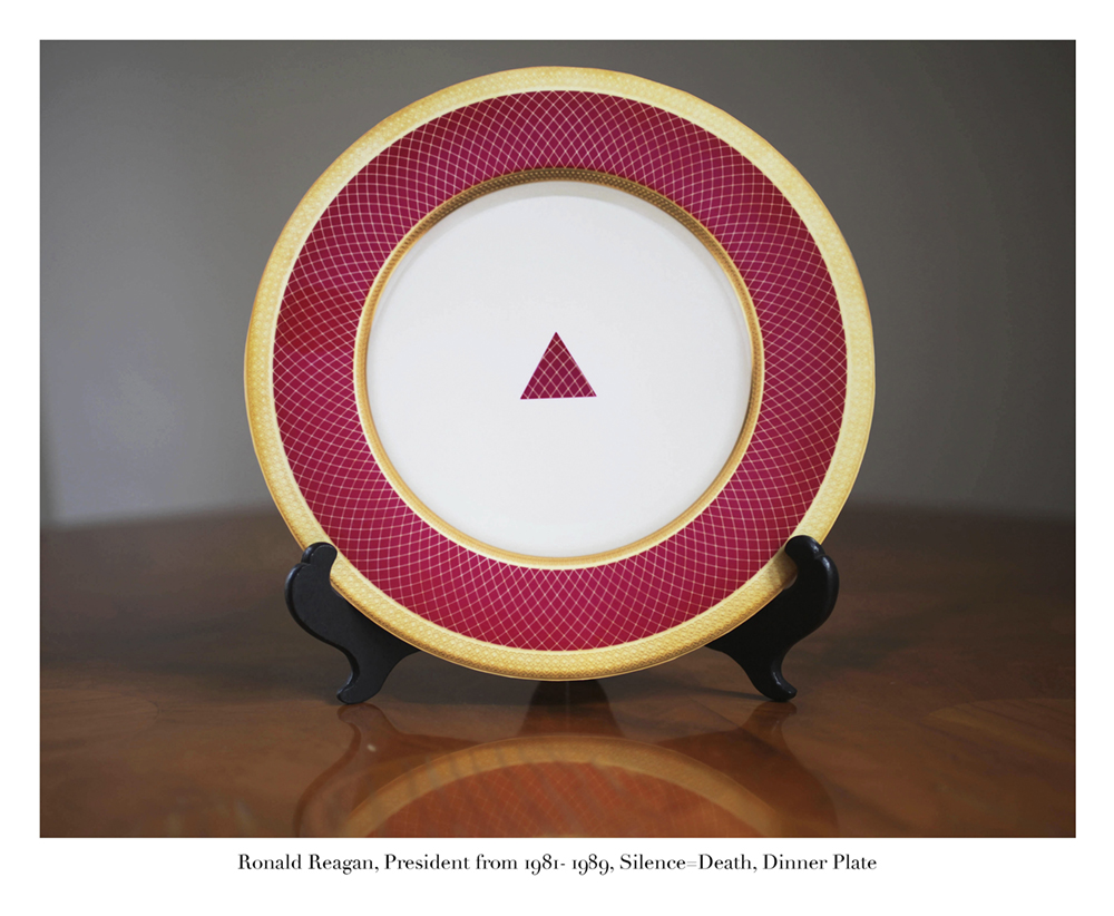 Ronald Reagan, Dinner Plate