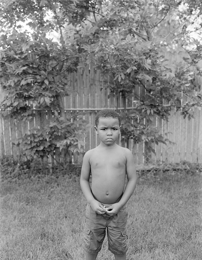 ©Rashod Taylor, LJ Standing in the Backyard