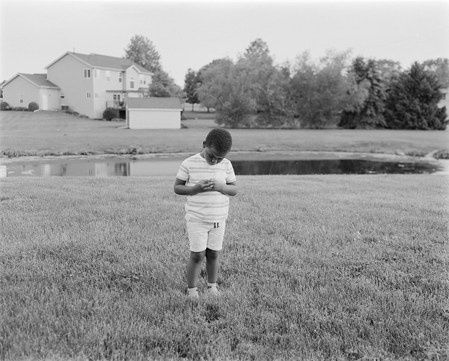 ©Rashod Taylor, Standing in my Parents Backyard