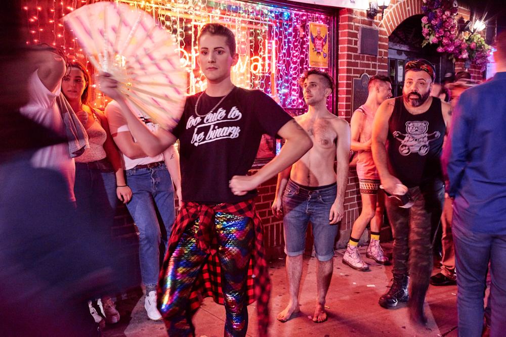 Lorenzo Triburgo - Triburgo_Monumental Resistance Stonewall (24 hours at Stonewall)_2018_c