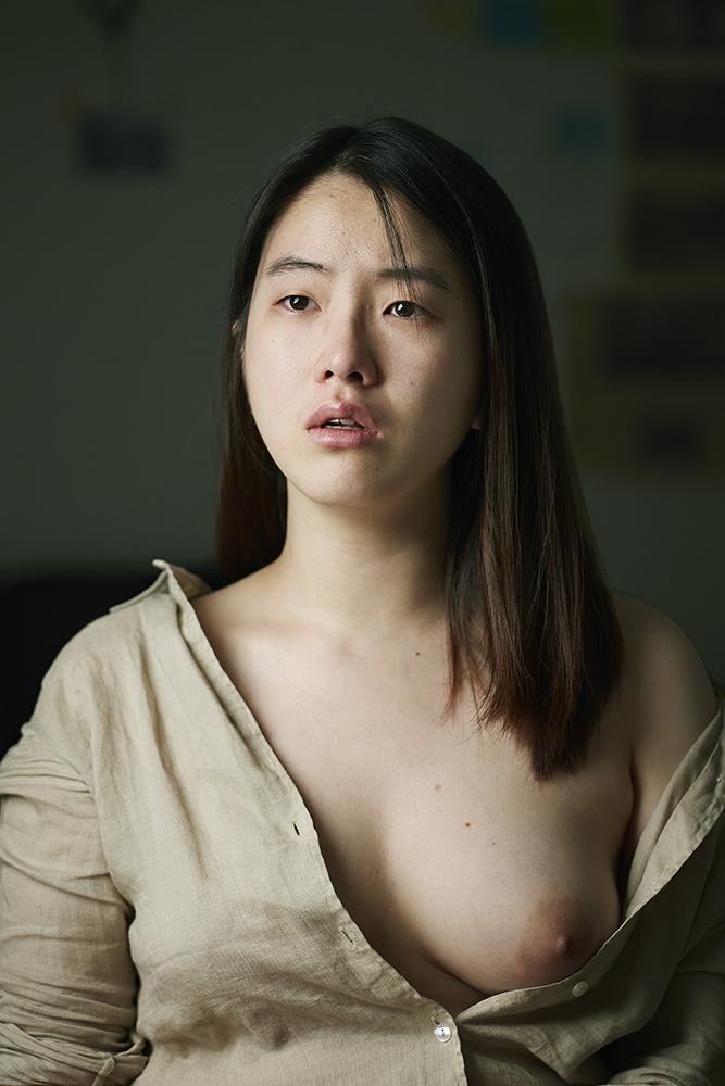 Ok Hyun Ahn, Migyo in a Linen Shirt, 2013