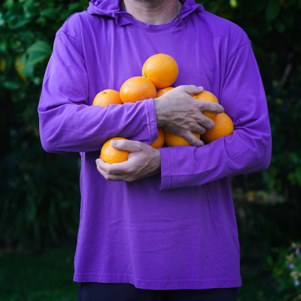 Oranges for citrus caprese salad