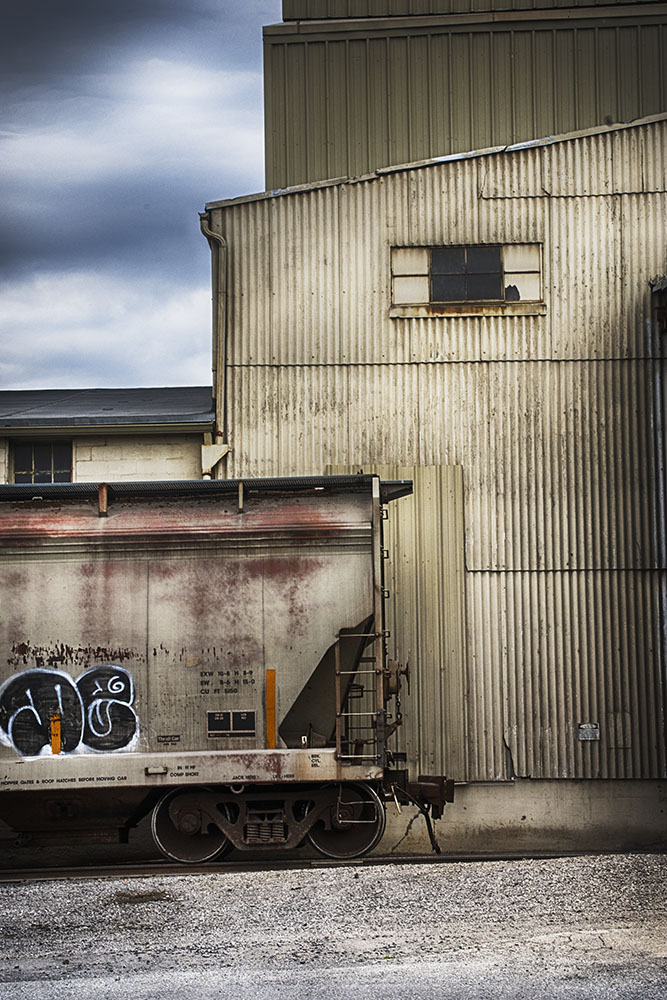 ©Jeff Wiles, Train at rest, Camp Hill, PA