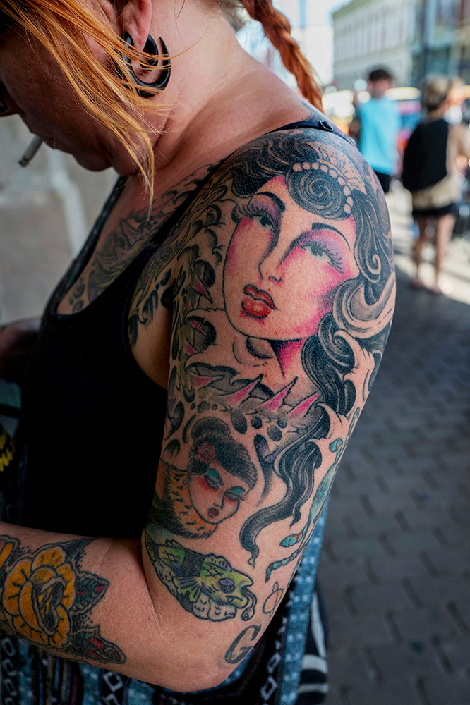 Stephen Marc_Untitled (Galveston Tattoo)