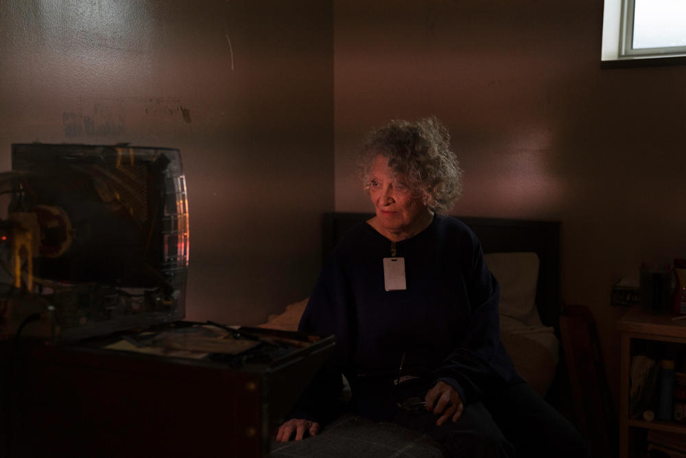 Kathy Tyler, an 82-year-old woman incarcerated at Iowa Correctional Institution for Women in Mitchellville, Iowa, watches CNN daily in her room. She also stays connected to what's happening in the world through The New York Times, and a subscription to The New Yorker.