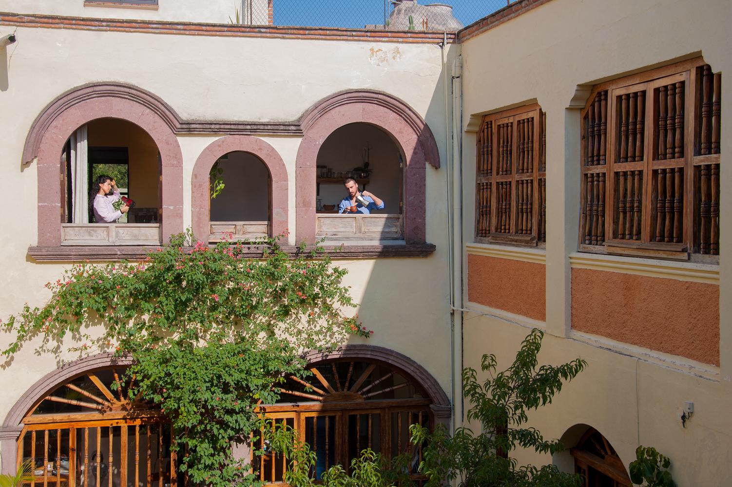 San Miguel de Allende by Filippo and Paulina self portrait filippogiusti1@gmail.com