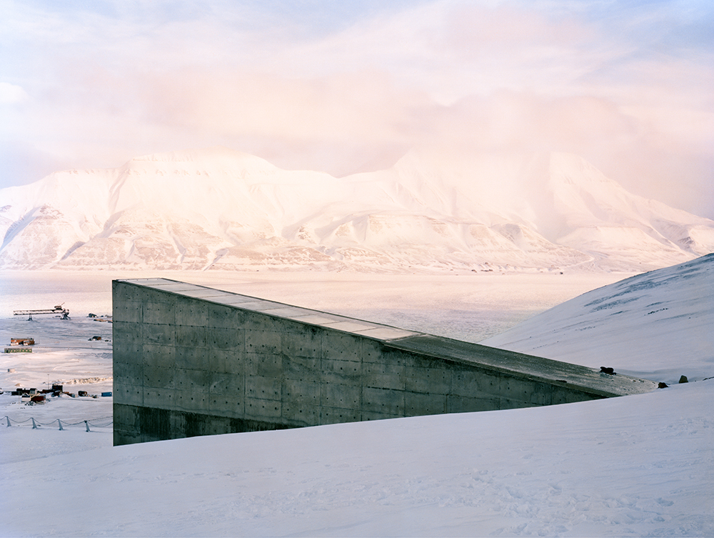 Svalbard Global Seed Vault, Spitsbergen Island, Norway