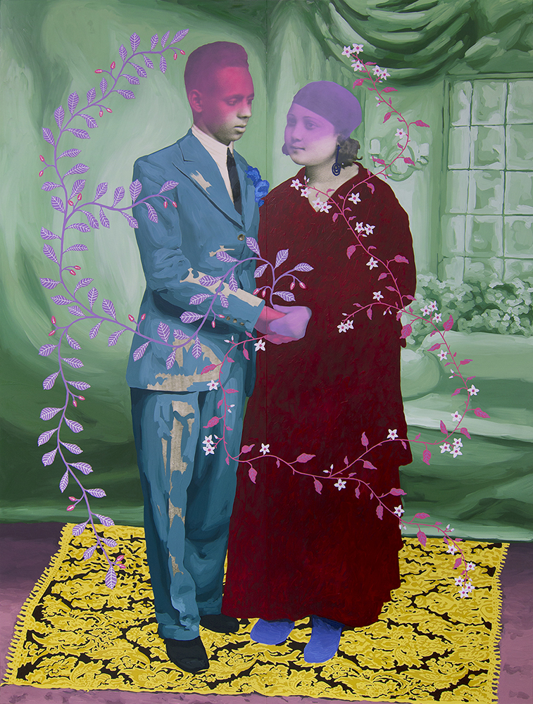 10_Patton_Untitled (Couple with Flowers and Berries)