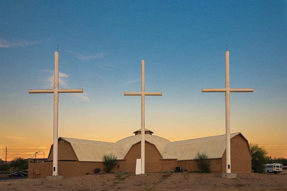 Fauxliage - The Middle Cross, Mesa, AZ