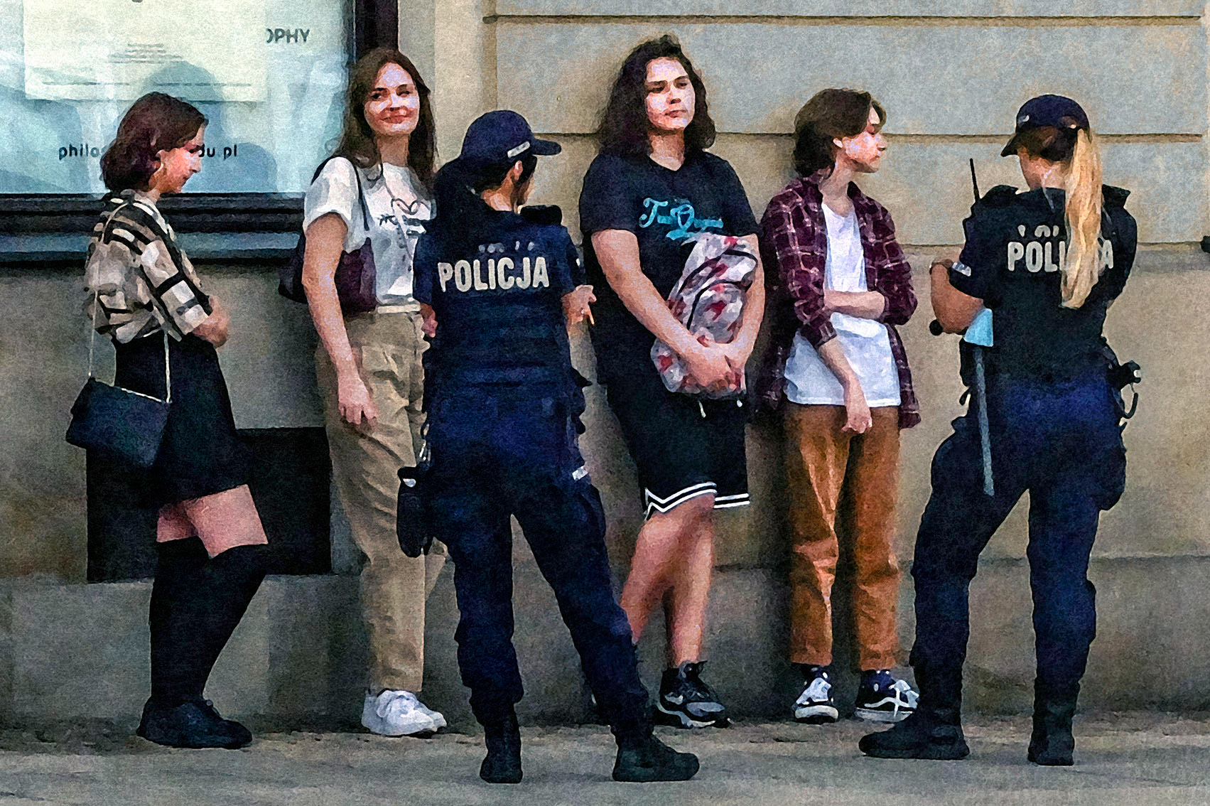 Obrazy odkryte Warszawa 2020