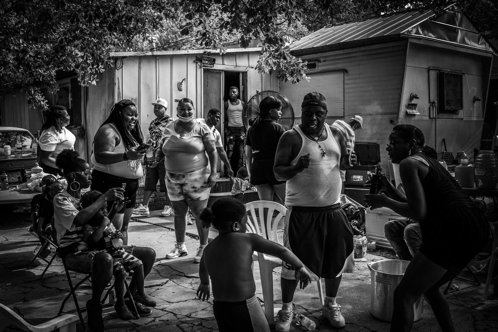 Zion City, Baton Rouge, Louisiana. July 2020.