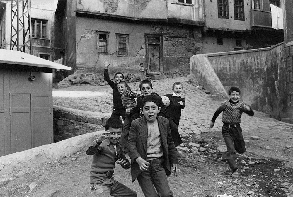 Boys Running at Camera Turkey