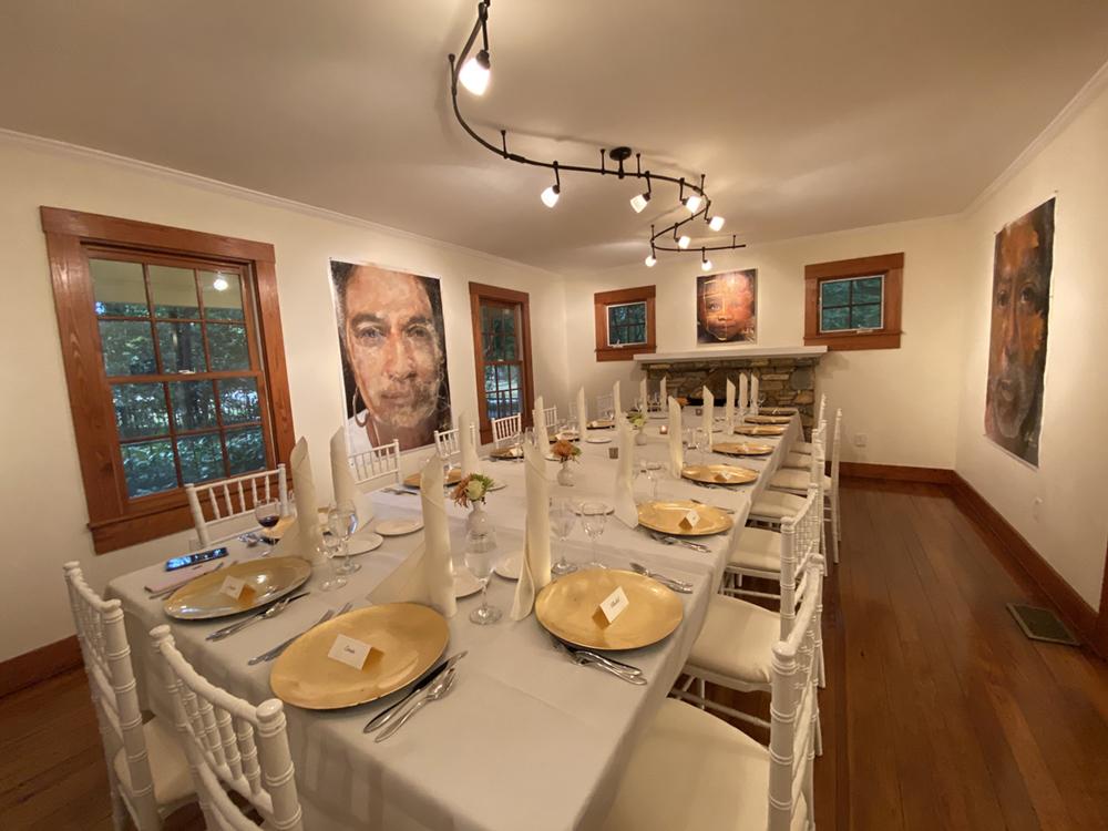 Arnika Dawkins Gallery Collector's dinner