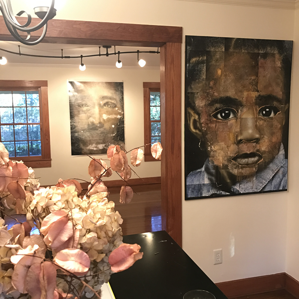 Arnika Dawkins Gallery installation shot