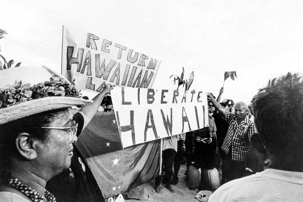 Speech on the Beach, 1993,