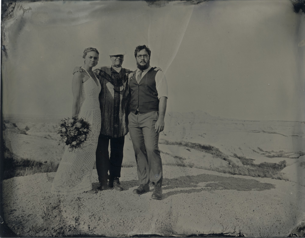 Schretenthaler_Wedding of Tom Dahlseid and Leah Schretenthaler officiated by John Banasiak, Badlands, SD_4