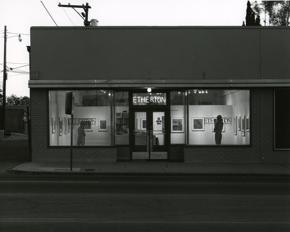 Etherton Gallery, First Location - 6th ST, 1981-87