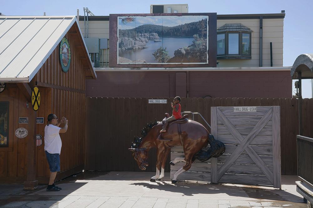 Knedler_Child on Bucking Horse