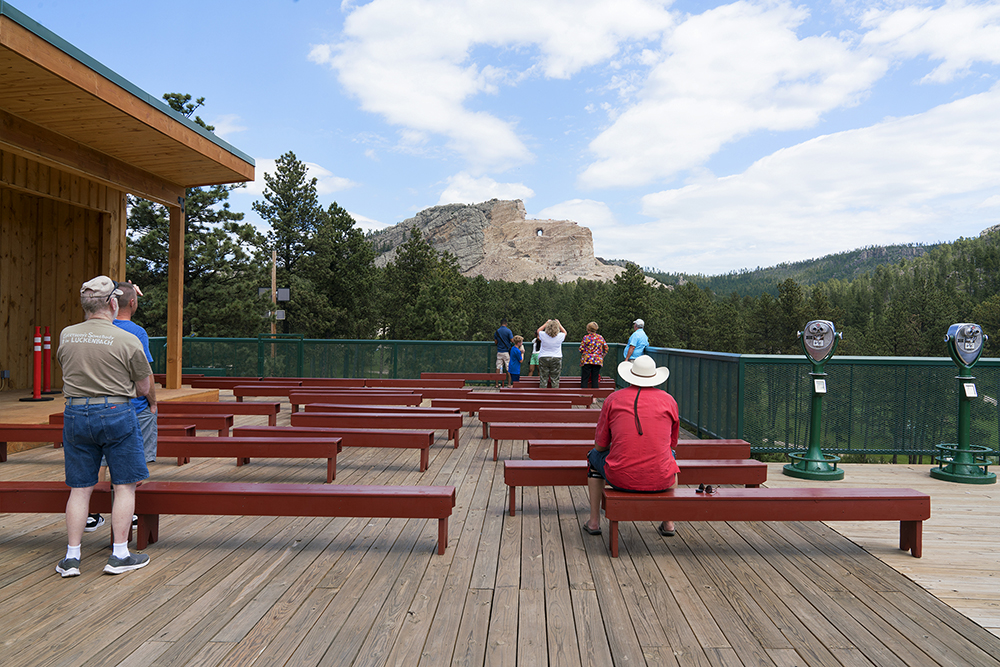 Knedler_Onlookers at the Unfinished Crazy Horse Memorial