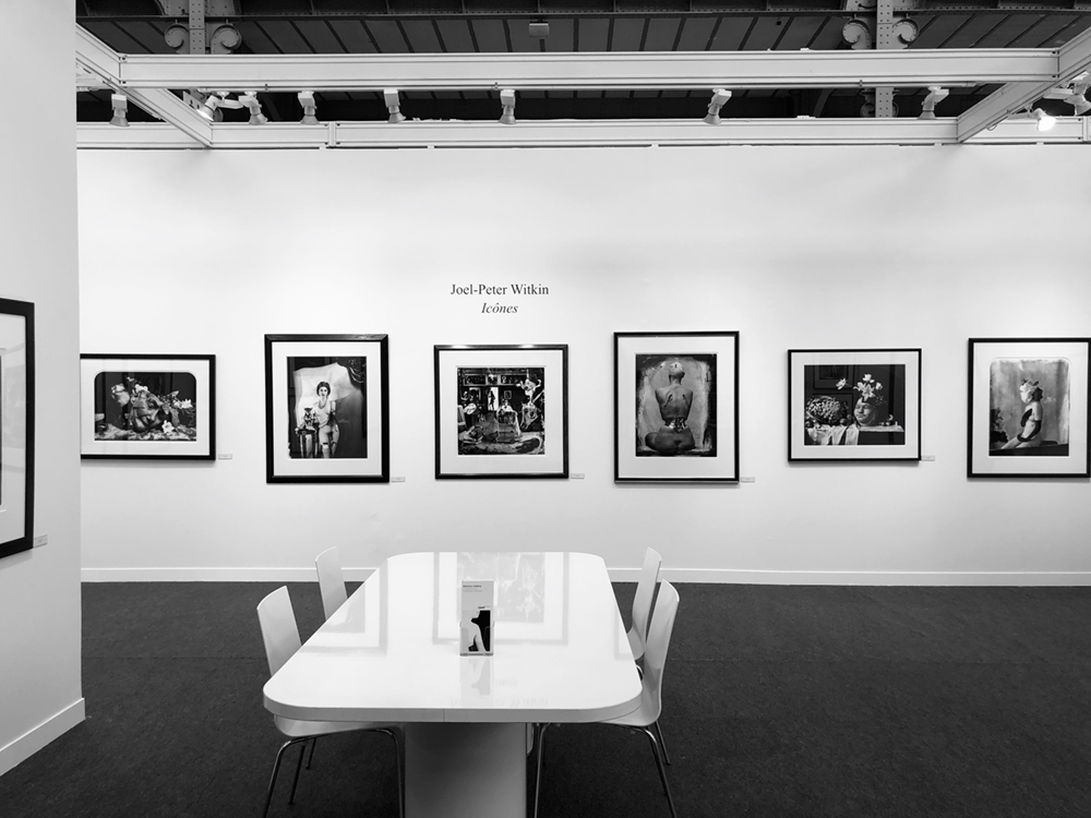 Paris Photo 2019, Joel-Peter Witkin-Icones, booth presented by Etherton Gallery and Galerie Baudoin Lebon