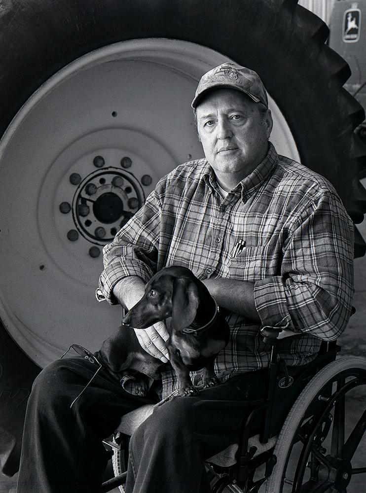 kbuck 05 Jimmy Wells, grain farmer, Slaughter Beach, DE p
