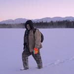 Gary walks to moose kill