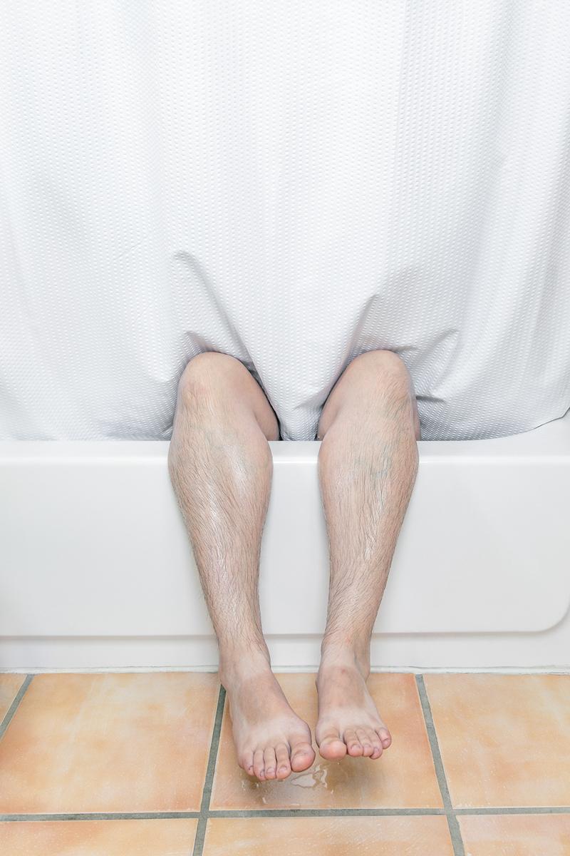 © Jenny Irene Miller, Legs (self-portrait), 2021